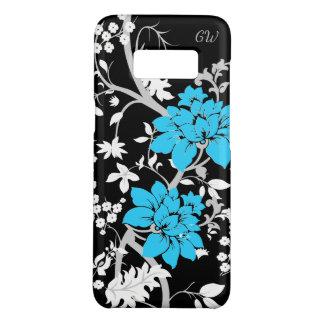 Personalisiertes modernes Blumen Case-Mate Samsung Galaxy S8 Hülle