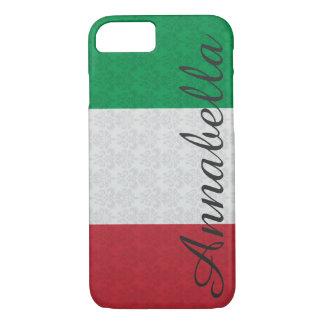 Personalisiertes Monogramm-italienisches iPhone 8/7 Hülle