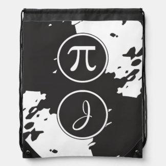 Personalisiertes Monogramm J - PU-Symbol - Mathe Sportbeutel