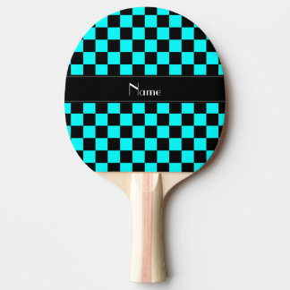 Personalisiertes Namensschwarz- und Tischtennis Schläger