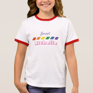 Personalisiertes NamensShirt Ringer T-Shirt