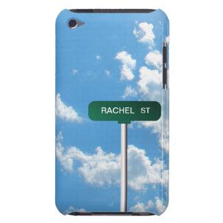 Personalisiertes Namensstraßen-Straßen-Zeichen auf iPod Touch Hüllen