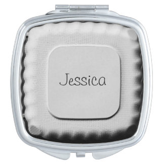 Personalisiertes - nehmen Sie Behälter heraus - Schminkspiegel