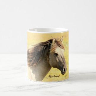 Personalisiertes Pferd Tasse
