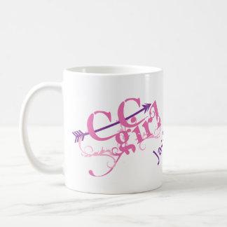 Personalisiertes Querland-Mädchen Tasse