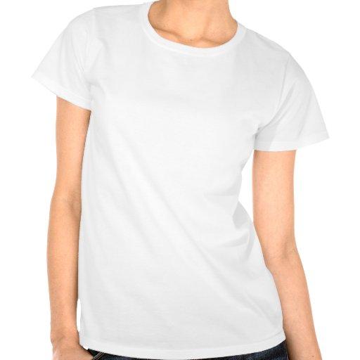 Personalisiertes rosa Band-Herz T Shirt