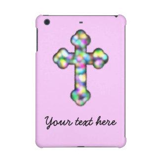 Personalisiertes rosa Kreuz