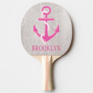 Personalisiertes SeeankerPing Pong Paddel Tischtennis Schläger