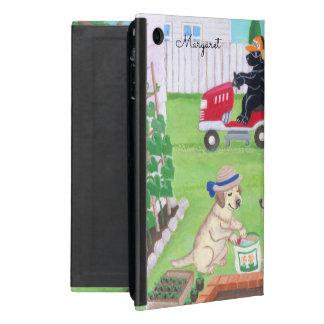 Personalisiertes Sonntags-Spaß Labradors ipad Etui Fürs iPad Mini