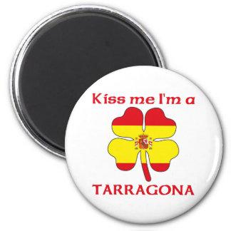 Personalisiertes Spanisch küsst mich den ich Tarr Magnete
