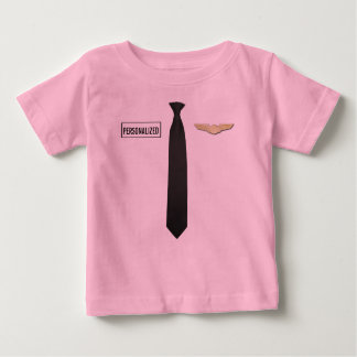 Personalisiertes VersuchsShirt, Luftfahrt scherzt Baby T-shirt