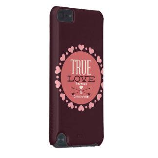 Personalisiertes wahres Liebevalentine-Geschenk iPod Touch 5G Hülle