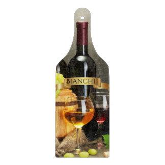 Personalisiertes Wein-Flaschen-Ausschnitt-Brett Schneidebrett