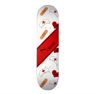Personalisiertes weißes individuelle skateboarddecks