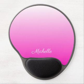 Personalisiertes Zweiton Steigung ombre heißes Gel Mousepad