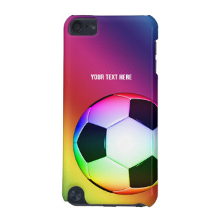 Personalizable bunte Spaß-Geschenke Fußball-  iPod Touch 5G Hülle