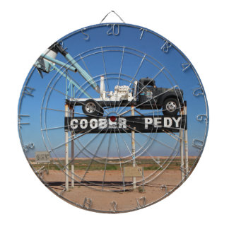 Personalizable Coober Pedy Hinterland-Andenken Dartscheibe