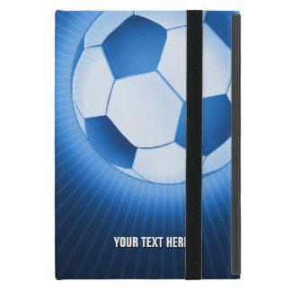 Personalizable Fußball iPad Mini Etuis