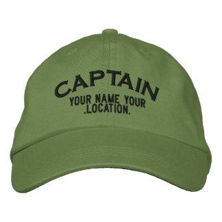 Personalizable Kapitän Hat Bestickte Baseballmützen
