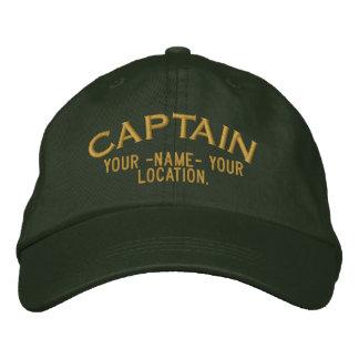 Personalizable Kapitän Hat Bestickte Kappe