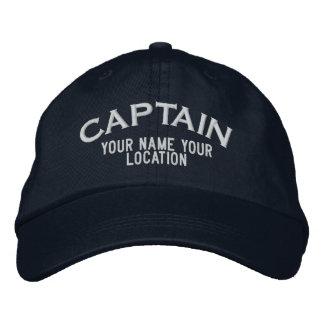 Personalizable Kapitän Hat Bestickte Mützen