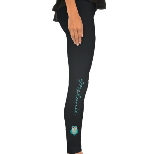Personalizable niedliche Eulen-Gamaschen Legging-Strumpfhose