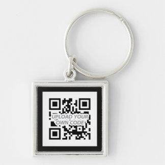 Personalizable QR Code Keychain - finden Sie Ihre  Schlüsselband