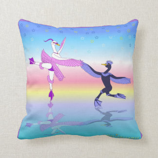 Personalized ballet pillow