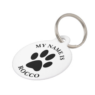 Personalized Pet Tag Haustiermarke