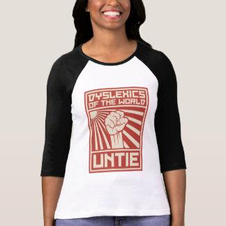 Personen mit Lesestörung der Welt LÖSEN sich T-Shirt