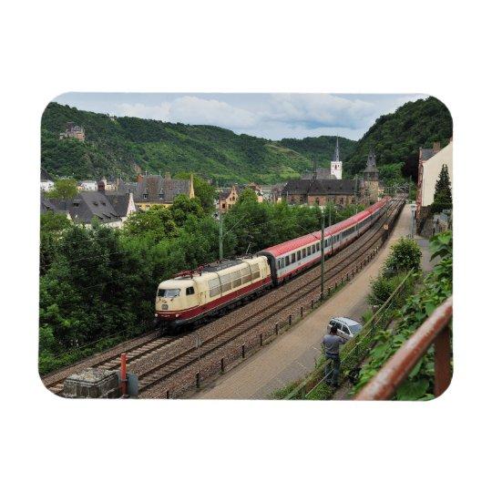 Personenzug in St. Goar Magnet