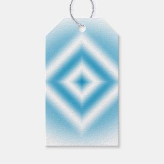 Personifizieren-Himmel blaue Diamantsteigung Geschenkanhänger