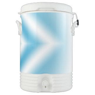 Personifizieren-Himmel blaue Diamantsteigung Getränkekühler