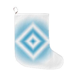 Personifizieren-Himmel blaue Diamantsteigung Großer Weihnachtsstrumpf