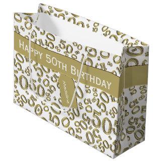Personifizieren Sie: 50. Geburtstag Große Geschenktüte