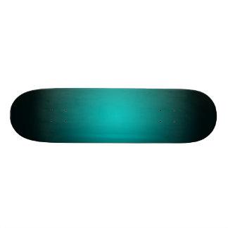 Personifizieren Sie - aquamarinen ombre Personalisierte Skateboards