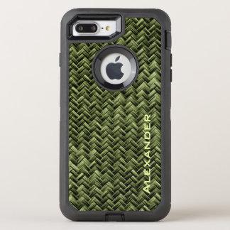 Personifizieren Sie:  Armee-grünes OtterBox Defender iPhone 8 Plus/7 Plus Hülle