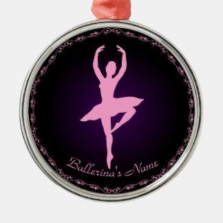 Personifizieren Sie es, Ballerina Silbernes Ornament