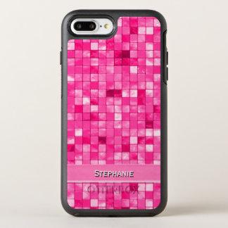 Personifizieren Sie: Girly Fushsia dekoratives OtterBox Symmetry iPhone 8 Plus/7 Plus Hülle