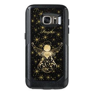 Personifizieren Sie: Gold/schwarzer OtterBox Samsung Galaxy S7 Hülle