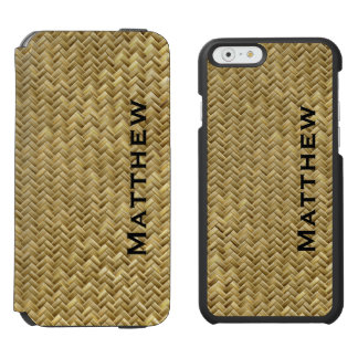 Personifizieren Sie:  GoldenFaux Incipio Watson™ iPhone 6 Geldbörsen Hülle