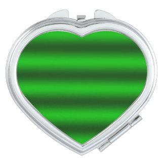 Personifizieren Sie - grünen ombre Schminkspiegel