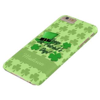 Personifizieren Sie grünes Spitzenhut Barely There iPhone 6 Plus Hülle