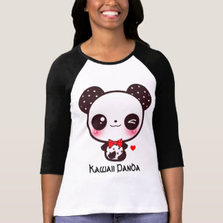 Personifizieren Sie Kawaii Panda T-shirt