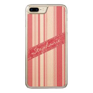 Personifizieren Sie: Leidenschaftliche rote und Carved iPhone 8 Plus/7 Plus Hülle