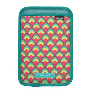 Personifizieren Sie mit buntem geometrischem iPad Mini Sleeve