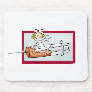 Personifizieren Sie mit Namen - die Superkrankensc Mousepads