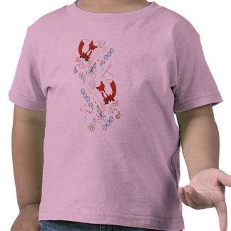 Personifizieren Sie modernes Fox-Waldmuster Hemd