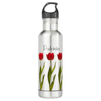 Personifizieren Sie:  Rote Trinkflasche