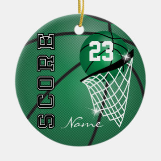 Personifizieren Sie Superstar-Basketball Keramik Ornament